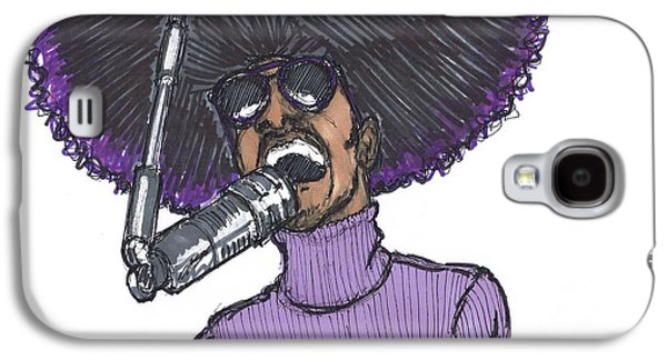 Stevie Afro Galaxy S4 Case by SKIP Smith