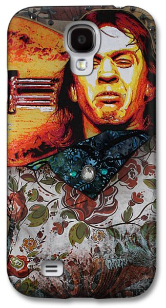 Dimensional Galaxy S4 Cases - Stevie Ray Galaxy S4 Case by Gary Kroman