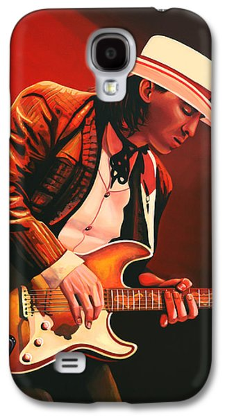 Floods Galaxy S4 Cases - Stevie Ray Vaughan Galaxy S4 Case by Paul  Meijering