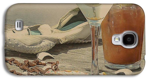 Still Life - Beach With Curves Galaxy S4 Case by Jeff Burgess