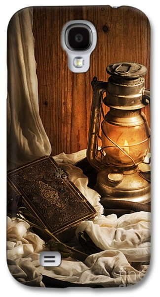 Bible Pyrography Galaxy S4 Cases - Still Life Galaxy S4 Case by Jelena Jovanovic