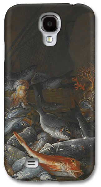Still Life With Fish Galaxy S4 Cases - Still Life Of Assorted Fish Galaxy S4 Case by Celestial Images