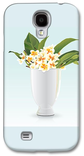 Still Life Of Frangipani Galaxy S4 Case by Prakaisak Rojprasert