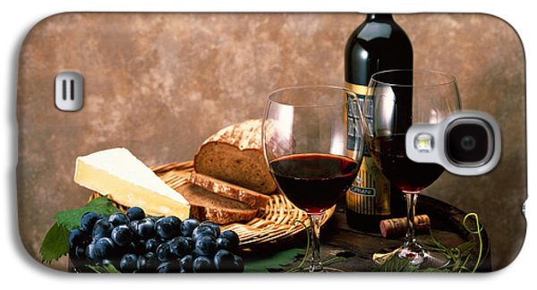 Bottle Of Wine Galaxy S4 Cases - Still Life Of Wine Bottle, Wine Galaxy S4 Case by Panoramic Images