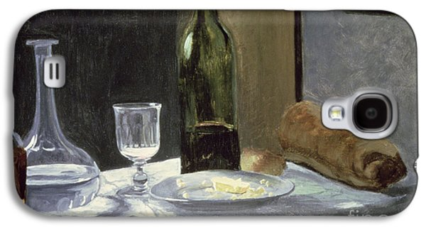 Still Life With Bottles Galaxy S4 Case by Claude Monet