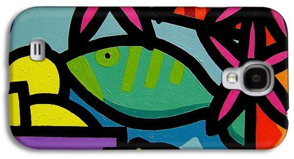 Still Life With Fish Galaxy S4 Case by John  Nolan