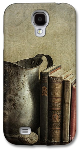 Old Pitcher Galaxy S4 Cases - Still Life with Pitcher Galaxy S4 Case by Terry Rowe