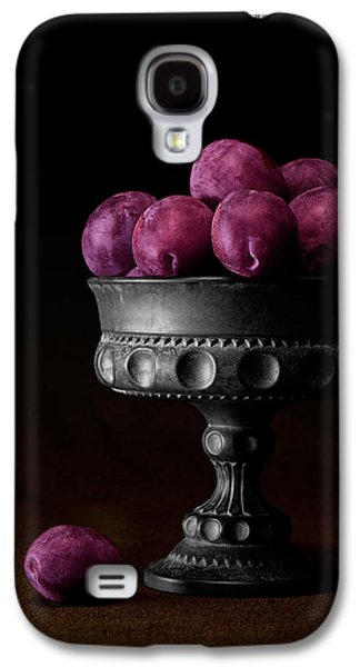 Still Life With Plums Galaxy S4 Case by Tom Mc Nemar