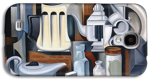 Still Life With Teapots Galaxy S4 Case by Catherine Abel