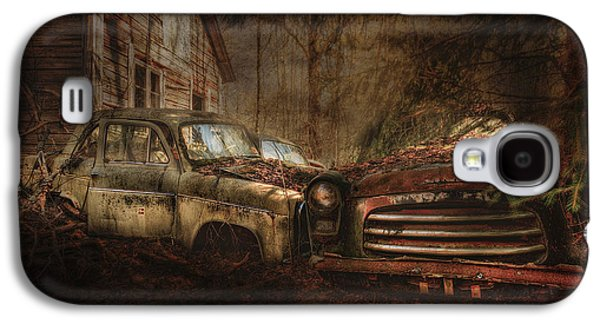 Final Resting Place Galaxy S4 Cases - Still Standing Galaxy S4 Case by Erik Brede
