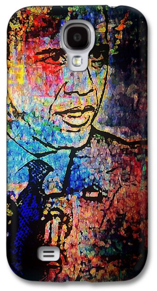 Barack Obama Mixed Media Galaxy S4 Cases - Still The One Galaxy S4 Case by Wendie Busig-Kohn
