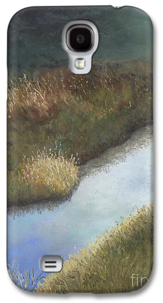 Waterscape Pastels Galaxy S4 Cases - Still Water Galaxy S4 Case by Ginny Neece