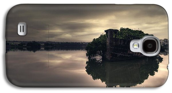 Wetlands Galaxy S4 Cases - Stillness Speaks Galaxy S4 Case by Andrew Paranavitana