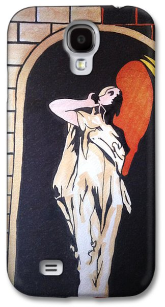 Statue Portrait Drawings Galaxy S4 Cases - Stir of Echoes Galaxy S4 Case by Jerrett Dornbusch