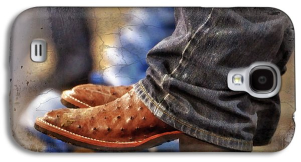 Person Galaxy S4 Cases - Stockshow Boots III Galaxy S4 Case by Joan Carroll