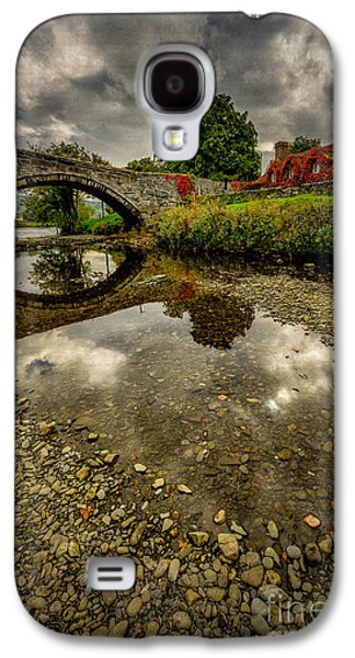 Stone Buildings Galaxy S4 Cases - Stone Bridge Galaxy S4 Case by Adrian Evans