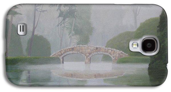 Leonard Filgate Paintings Galaxy S4 Cases - Stone Bridge Galaxy S4 Case by Leonard Filgate