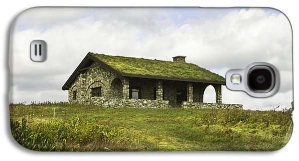 Stone Buildings Galaxy S4 Cases - Stone Building on Beech Hill Rockport Maine Galaxy S4 Case by Keith Webber Jr