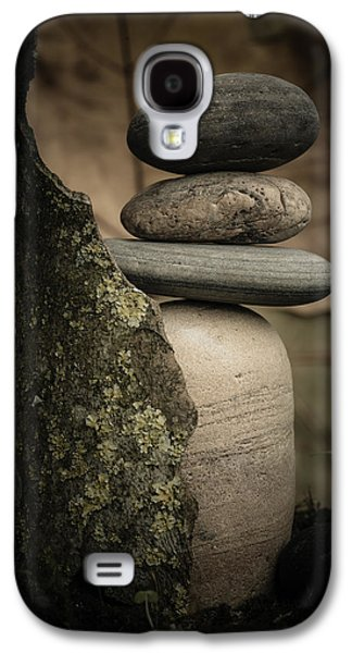 Mystic Setting Galaxy S4 Cases - Stone Cairns III Galaxy S4 Case by Marco Oliveira