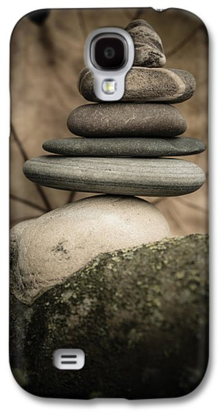 Mystic Setting Galaxy S4 Cases - Stone Cairns IV Galaxy S4 Case by Marco Oliveira