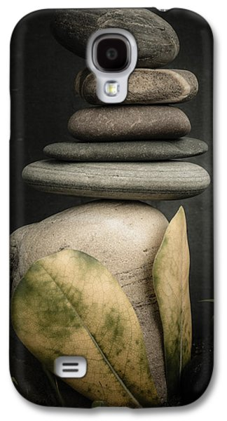 Mystic Setting Galaxy S4 Cases - Stone Cairns V Galaxy S4 Case by Marco Oliveira