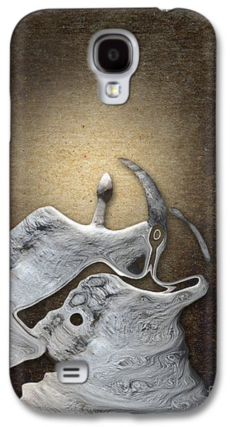 Stone Digital Galaxy S4 Cases - Stone Men 29 - Love Rythm Galaxy S4 Case by Variance Collections