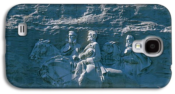 Relief Sculpture Galaxy S4 Cases - Stone Mountain Confederate Memorial Galaxy S4 Case by Panoramic Images