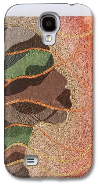 Green Reliefs Galaxy S4 Cases - Stone work 1 Galaxy S4 Case by Fred Odle