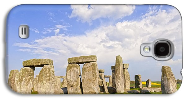 Megalith Galaxy S4 Cases - Stonehenge Stone Circle Wiltshire England Galaxy S4 Case by Colin and Linda McKie