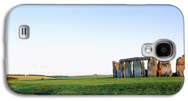 Religious Galaxy S4 Cases - Stonehenge Wiltshire England Galaxy S4 Case by Panoramic Images