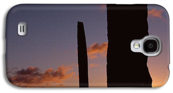 Megalith Galaxy S4 Cases - Stones Of Stenness, Orkney Islands Galaxy S4 Case by Panoramic Images