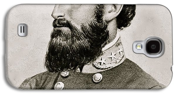 Stonewall Galaxy S4 Cases - Stonewall Jackson Confederate General Portrait Galaxy S4 Case by Anonymous