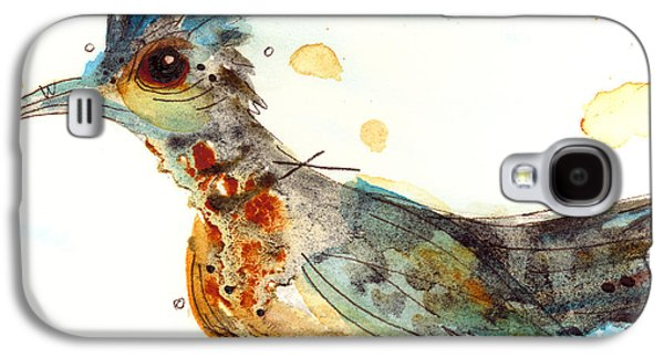 Stop And Smell What? Galaxy S4 Case by Dawn Derman