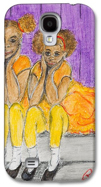 African-american Pastels Galaxy S4 Cases - Stop Copying Off Me Galaxy S4 Case by Charlie Black