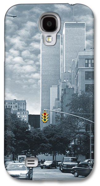 Twin Towers Nyc Galaxy S4 Cases - Stop Galaxy S4 Case by Mike McGlothlen