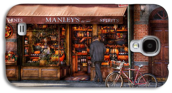 Manley Galaxy S4 Cases - Store - Wine - NY - Chelsea - Wines and Spirits Est 1934  Galaxy S4 Case by Mike Savad