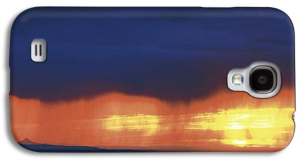 Abstract Landscape Galaxy S4 Cases - Storm Along The High Road To Taos Santa Galaxy S4 Case by Panoramic Images