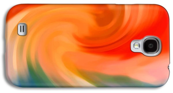 Nature Abstract Galaxy S4 Cases - Storm at Sea 1 Galaxy S4 Case by Amy Vangsgard