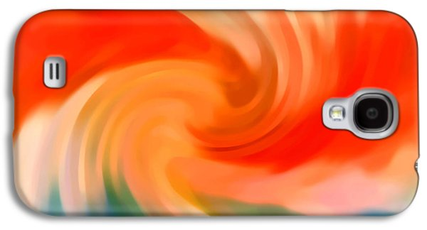 Nature Abstract Galaxy S4 Cases - Storm at Sea 2 Galaxy S4 Case by Amy Vangsgard