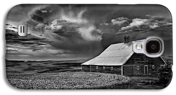 Contour Farming Galaxy S4 Cases - Storm Barn Galaxy S4 Case by Latah Trail Foundation