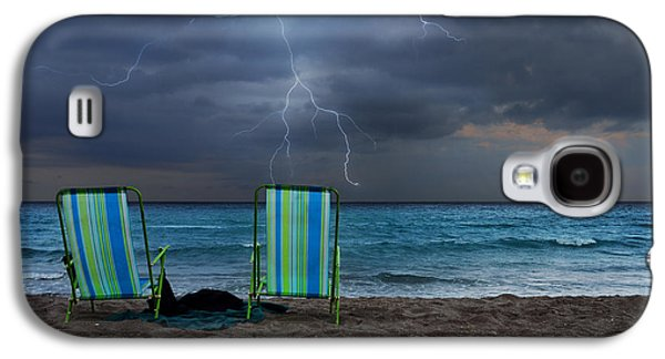 Storm Chairs Galaxy S4 Case by Laura Fasulo