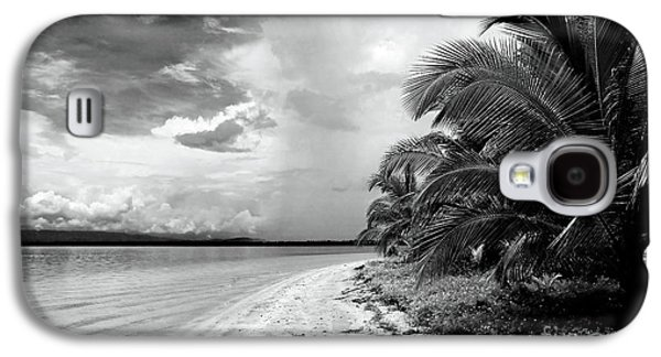 Storm Prints Photographs Galaxy S4 Cases - Storm Cloud on the Horizon Galaxy S4 Case by John Rizzuto