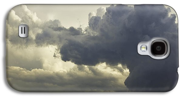 Abstract Forms Photographs Galaxy S4 Cases - Storm Clouds and Thunder Heads Before Rain Storm Art Print Galaxy S4 Case by Keith Webber Jr