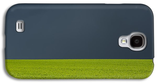 Stormy Weather Galaxy S4 Cases - Storm Field Abstract Galaxy S4 Case by Tim Gainey