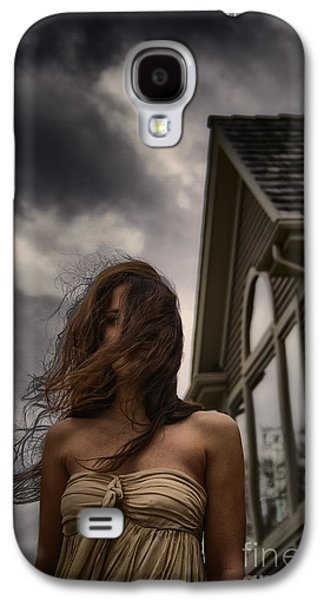 Strapless Dress Galaxy S4 Cases - Storm Galaxy S4 Case by Margie Hurwich
