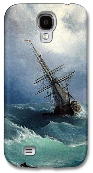 Saving Paintings Galaxy S4 Cases - Storm Galaxy S4 Case by Mikhail Savchenko