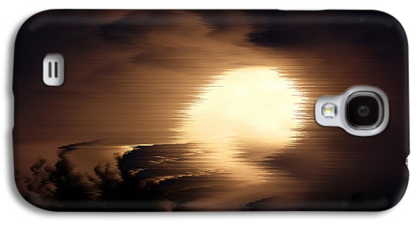 Poster Art Galaxy S4 Cases - Storm night Galaxy S4 Case by Jb Atelier