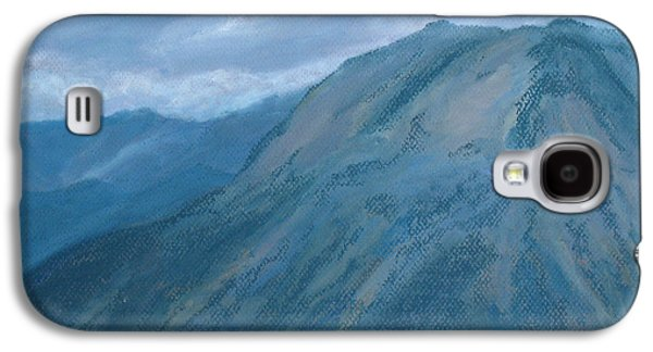 Storm Pastels Galaxy S4 Cases - Storm Off Trail Ridge Galaxy S4 Case by Jenny Armitage