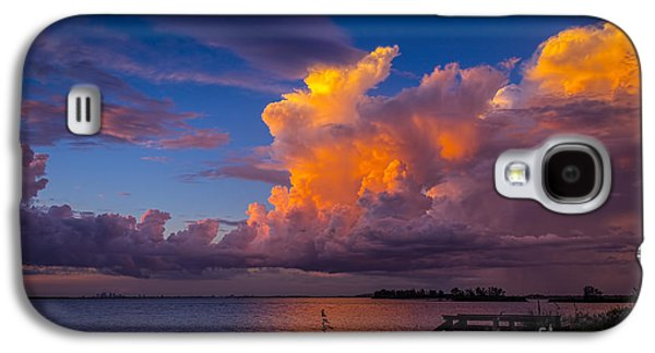 Rain Storm Galaxy S4 Cases - Storm on Tampa Galaxy S4 Case by Marvin Spates
