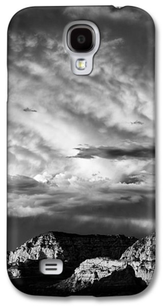 Stormy Weather Galaxy S4 Cases - Storm over Sedona Galaxy S4 Case by Dave Bowman